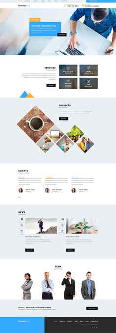 Business Plus – Corporate Business WP Theme