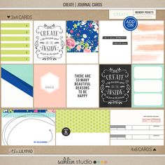 CREATE (Journal Cards)