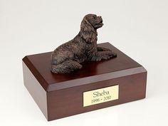 King Charles Spaniel, Bronze TR200-439 Figurine Urn