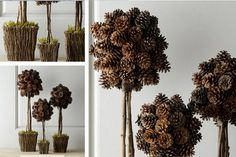10 Ideas to Decorate with Pinecones