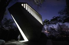 dramatic: Sunset Chapel by BNKR Arquitectura (Acapulco, Mexico)
