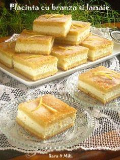 Romanian Desserts, Romanian Food, Romanian Recipes, Baby Food Recipes, Cookie Recipes, Dessert Recipes, Lemon Cream Cheese Pie, Italian Cake, Good Food