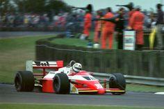 Christian Danner (Great Britain 1987) Christian Danner (GER) (West Zakspeed Racing), Zakspeed 871 - Zakspeed 1500/4 1.5 L4 (t/c - 4.0 Bar limited) (RET) 1987 British Grand Prix, Silverstone Circuit