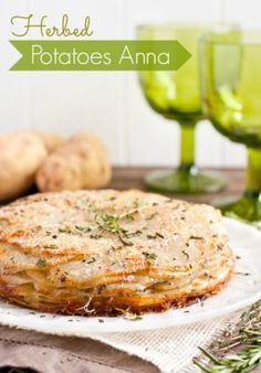 Herbed Potatoes Anna Recipe | NeighborFood