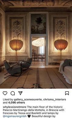 Ingo Maurer, Lighting Concepts, Fresco, Interior Inspiration, Creative Design, Furniture Design, Flooring, Interior Design, Architecture