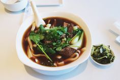 Beef Noodle Soup from Mama Chen's in Cupertino.