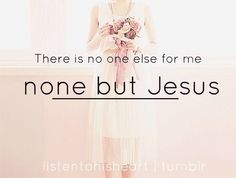 There is no one like Jesus...x