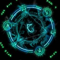 Arcane Circles by SoftPurple on DeviantArt Spell Circle, Transmutation, Summoning Circle, Ying Y Yang, Magic Squares, Magic Symbols, Fantasy Rpg, Glyphs, Sacred Geometry