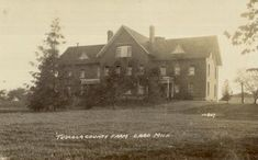 MORE COUNTY POORHOUSE IMAGES  Tuscola County Farm, Caro, Mich.