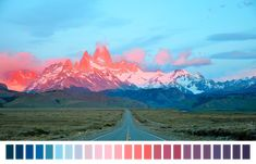 "naturalpalettes: ""Sunrise in Patagonia """