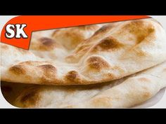 EASY BREAD RECIPE - Unleavened Flat Bread Yeast Free and Quick
