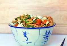 Thai Peanut Butter Cashew Chicken | Slow Cooker