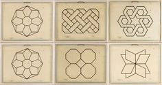 A 19th Century Geometry Lesson Makes For Beautiful Wall Art
