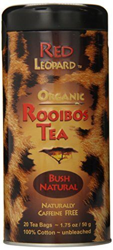Red Leopard Organic Rooibos Natural Bush Tea Tea Bags ** You can find more details by visiting the image link. (This is an affiliate link and I receive a commission for the sales) Herbal Cure, Herbal Tea, Vanilla Tea, Red Leopard, Nutritional Supplements, Drinking Tea, Food Print, Herbalism, Organic