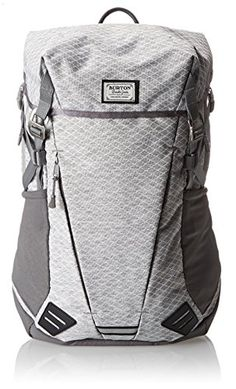 Burton Prism Pack (Gray Heather Diamond Ripstop).  Streamlined, WITH water bottle holders on side (essential if used as a dayhiker pack).Streamlined, Lot's of organizationpockets on the inside.
