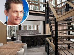 Browse stunning interiors inspired by Texas-based celebrities like Matthew McConaughey, Sandra Bullock, and Ryan Gosling, and get design ideas for adding a little star-worthy style to you own home. Chip Und Joanna Gaines, Bungalow, Hgtv Dream Homes, Inspirational Celebrities, Design Blog, Girl House, Matthew Mcconaughey, Celebrity Houses, Beautiful Interiors