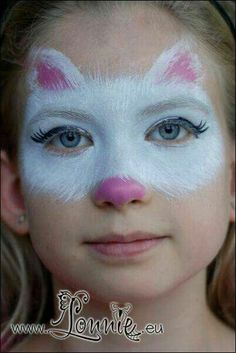Girl Face Painting, Painting For Kids, Body Painting, Simple Face Painting, Halloween Makeup For Kids, Kids Makeup, Scary Halloween, Halloween Costumes, Animal Face Paintings