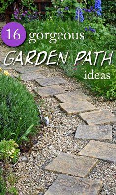 Gorgeous Garden Paths Thatu0027ll Whisk You Away To Backyard Paradise