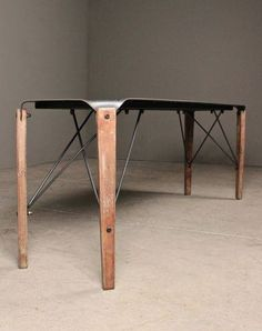 an artfully industrial take on craftsman style, the nelson bench brings steel, pale wood + masculine hardware together.