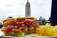 NY: Lobster Rolls, on Rooftops: 7 Places to Get 'Em 7 Places, Places To Eat, Rooftop Bars Nyc, Nyc Bucket List, Best Seafood Restaurant, Ny Life, I Love Nyc, Nyc Restaurants, Italian Recipes