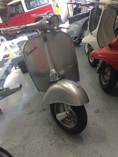 Here's another one of the stunning scooters! We do love vintage Vespas! Come check out all the scooters that we have at our San Francisco showroom. #Vespa #VintageScooter #VespaStyle #VintageVespa #ItalianClassic #VespaHobby #VintageStyle #VintageCollector #Scooterholic #RestoredScooter #SanFrancisco #SFYelp #SFLove #SFBucketList