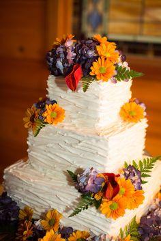 Fall Wedding Cake ||