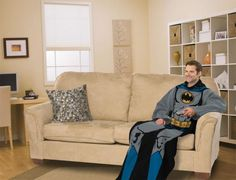 A Batman Snuggie because a man can be whoever he wants to be in his man cave