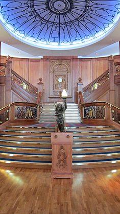 Titanic Stairs, so beautiful.