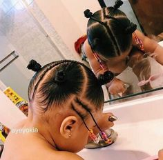 Baby Girl Hairstyles Infant 22 Ideas You are in the right place about toddler hair Cute Toddler Hairstyles, Lil Girl Hairstyles, Black Kids Hairstyles, Natural Hairstyles For Kids, Kids Braided Hairstyles, Mixed Baby Hairstyles, Hairstyles 2016, African Hairstyles, Infant Hairstyles