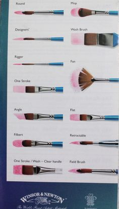 Essential Paint Brushes You Should Know About Journal Addict — artjournalingtiltheend: Differences between.Journal Addict — artjournalingtiltheend: Differences between. Watercolor Tips, Watercolor Artists, Watercolor Techniques, Art Techniques, Simple Watercolor, Watercolor Paper, Tattoo Watercolor, Watercolor Animals, Watercolor Landscape
