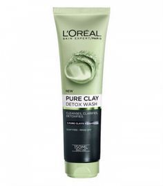 best face wash: L'Oreal Pure Clay Detox Wash