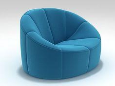 Pumpkin Armchair model by Design Connected Art Furniture, Bean Bag Furniture, Vintage Furniture Design, Chair And Ottoman, Sofa Chair, Armchair, Ligne Roset, Modern Sofa Designs, Multipurpose Furniture
