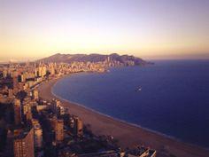 Una tarde tranquila en la #Benidorm #CostaBlanca
