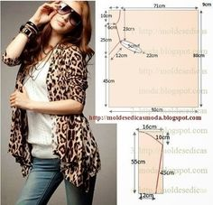 COAT MAKE EASY 8 ~ Templates Fashion by Measure