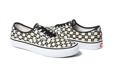 cc3aca53b4c745 Supreme Vans 2016 Authentic black canvas Fall winter Collection Vans Off  The Wall
