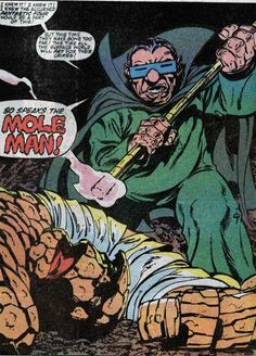 Fantastic Four : SuperMegaMonkey : chronocomic Marvel Villains, Marvel Comics, Fantastic Four Villains, Molecule Man, Mole Man, Red Ghost, Mister Fantastic, Invisible Woman, John Byrne