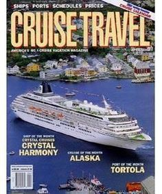 Cruise Travel, 6 issues for 1 year