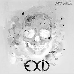 Papers.co wallpapers - as82-kpop-exid-cover-skull-white-art-illustration - http://papers.co/as82-kpop-exid-cover-skull-white-art-illustration/ - illustration, music