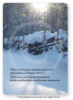 Finnish Words, Wells, Christmas, Cottages, Outdoor, Gardening, Xmas, Outdoors, Cabins