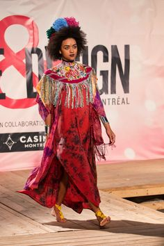 Models representing Katia Nikolajew while performing in a fashion show as part of the Mode & Design festival in Montreal wore two clothing items from Ikala Outfitter.  We are excited that a couple of our  products were featured in this incredible festival.