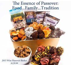 Passover Gift Baskets, First Seder April 3