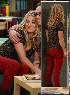 Kaley Cuoco's #Fashionable Moments as #Penny