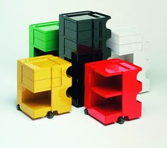 With its bright colours BOBY cheers you up! #desing by Joe Colombo, 1970
