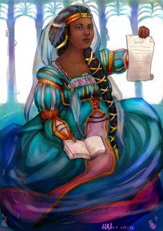 the_high_priestess__tarot_series_by_the_savage_salad-d4ydyx4.png (752×1063)