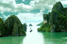 Ha Long Bay is recognised by UNESCO as a world natural heritage in 1994