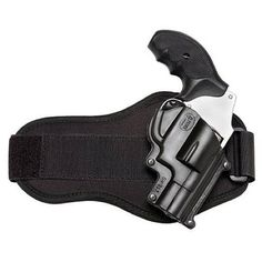 Ankle Holster for revolver - Of course Blair wears one! This girl packs a lot of guns!!!