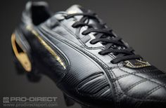 Puma King Lux FG Limited Edition at prodirectsoccer.com. Crafted from the softest K-leather and limited to only 999 pairs, reign on firm ground in the ultimate King football boots; the Luxury Edition.