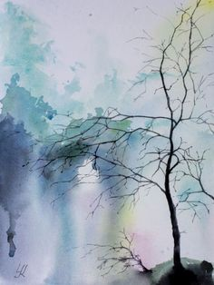 """Buy """"Stark"""", 11.8""""x 15.7""""(30x40cm), Watercolor by Yuriy Kraft on Artfinder. Discover thousands of other original paintings, prints, sculptures and photography from independent artists."""