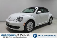 New 2015 Volkswagen Beetle 1.8T w/Sound/Nav/PZEV Convertible For Sale | Peoria IL