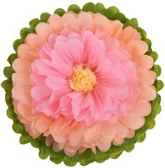 These Gorgeous Tissue Paper Flowers will embellish your celebration like no other party decoration! Create a spectacular backdrop with our Tissue Flowers, hang them, make a bouquet or spread them acro